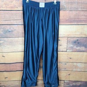 Vintage reversible tear away baggy track pants